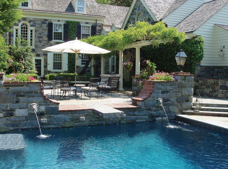 swimming pool design and construction custom pool design - Swimming Pools Design And Construction
