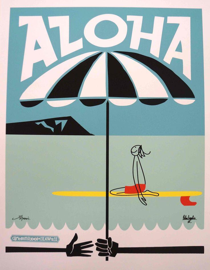 ALOHA Vol.04 Collaboration Art by GREENROOM Hawaii   GREENROOM Hawaii