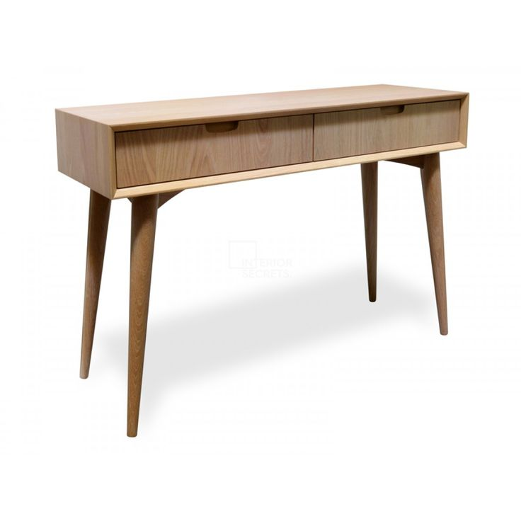 johansen console table with drawers