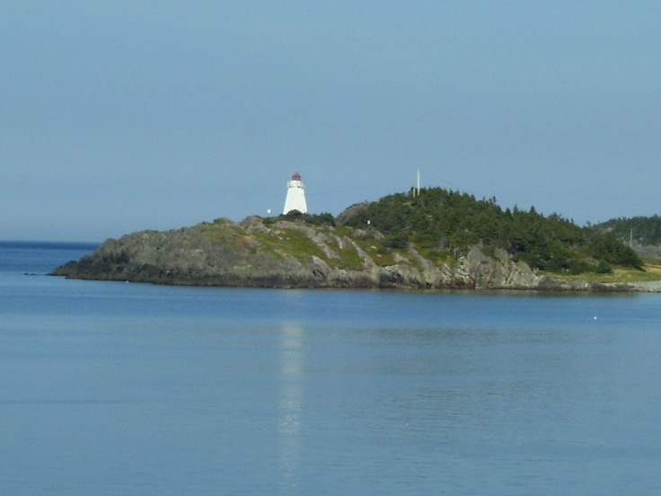 Lighthouse in Hants Harbour