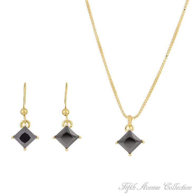Gold Set,Black-Fifth Avenue Collection Australia,beautiful jewellery,beautiful people,beautiful life