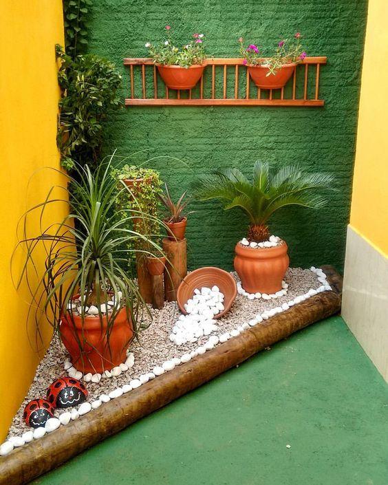 Small Garden Design Ideas For Your Backyard: 35 Ideias Que Vão Despertar Sua