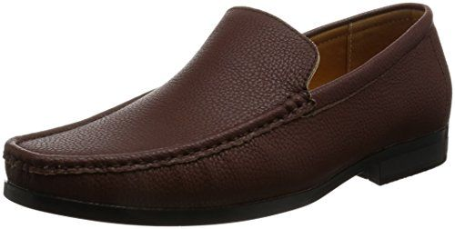 Unknown AN Mens Slip On Shoes Loafer Shoes Loafers Dress Shoes Casual Shoes Black Brown