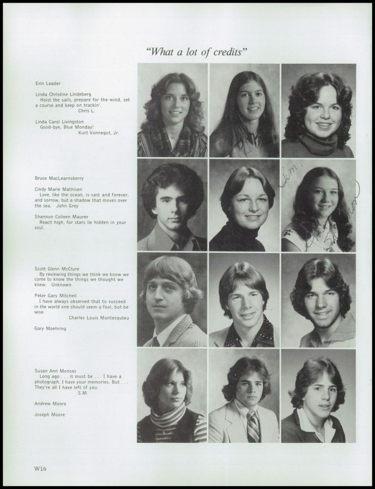 1978 Bainbridge High School Yearbook via Classmates.com