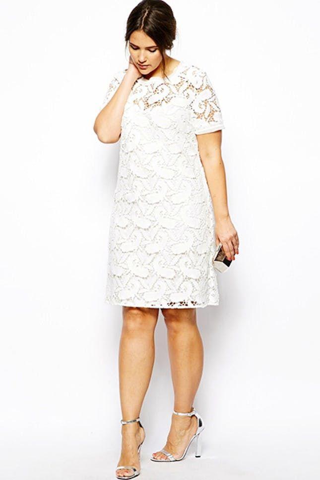 The 10 Best Brands for Plus-Size Wedding Dresses via Brit + Co