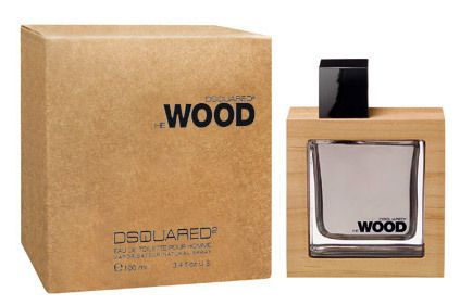 He Wood DSQUARED² cologne - a fragrance for men 2007 - Top notes are violet and violet leaf; middle notes are vetiver and cedar; base notes are amber, musk and fir.