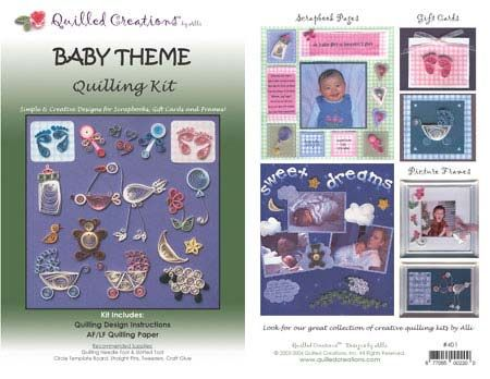 Quilling Kit : #401 Baby Theme