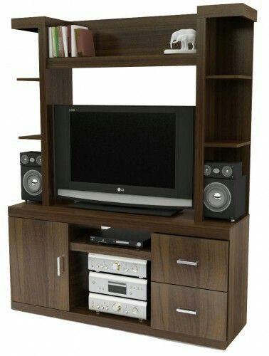 7 best images about muebles para audio y tv on pinterest shelves chairs and the o 39 jays - Muebles television modernos ...