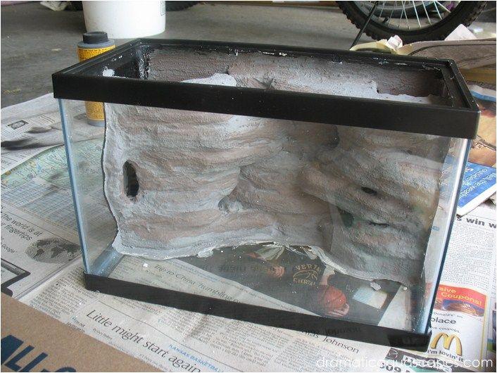 Dramatic AquaScapes - DIY Aquarium Background - Betta Paradise