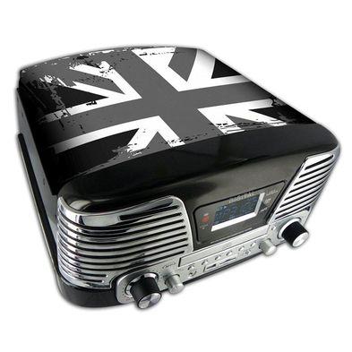 Giradischi TD79 (UK bianco / nero). Da Bigben Interactive. Ulteriori informazioni qui: http://www.bigbeninteractive.it/produit/produit/id/7750