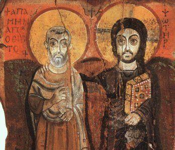 sChristian Iconography, Classic Christian, Egyptian Saint, Catholic Christian, Medieval Art, Christian Theme, Coptic, Christian Curriculum, Abbot Mena