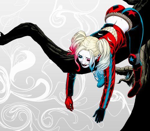 Harley Quinn in Suicide Squad Most Wanted: El Diablo and Amanda Waller #5