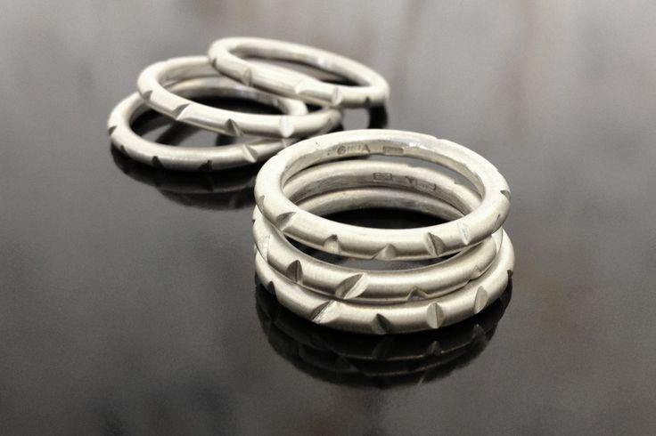 Bambu rings. Gina Bulgamin