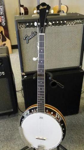Ibanez B50 5 String Banjo Closed back Banjo Remo Head