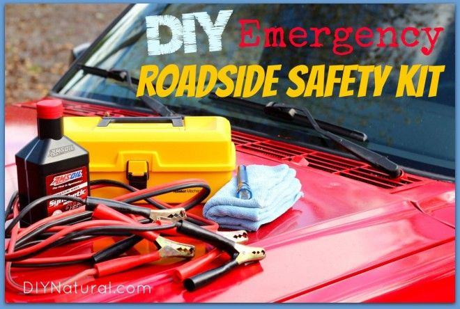 Don't buy a car emergency kit, make your own! Creating a roadside safety pack for your vehicle is easy, it saves money, and allows you to pick what you need!