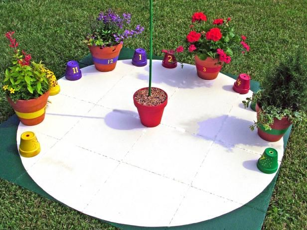 Tell time in your garden with an easy-to-make timepiece fashioned out of container gardens and a few empty pots. Learn how to make a sundial on HGTV Gardens.