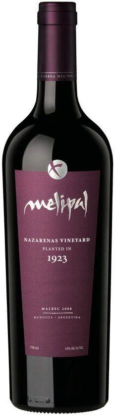 """""""Nazarenas Vineyard"""" Malbec 2011 - Bodega Melipal, Luján de Cuyo, Mendoza--------------------Terroir: Agrelo (Luján de Cuyo) - Mendoza-------------------------------- Crianza: 18 meses en barricas de roble francés"""