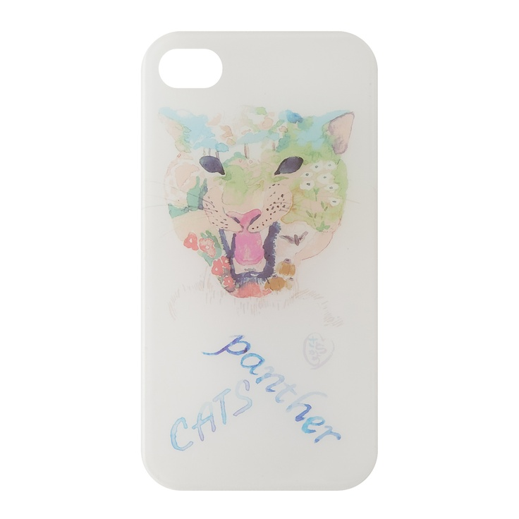 """""""PANTHER CATS""""    kanvas products® x KAYO SATO,     iPhone Cases by Fashion Designers and Creators,    SUMMER 2012"""