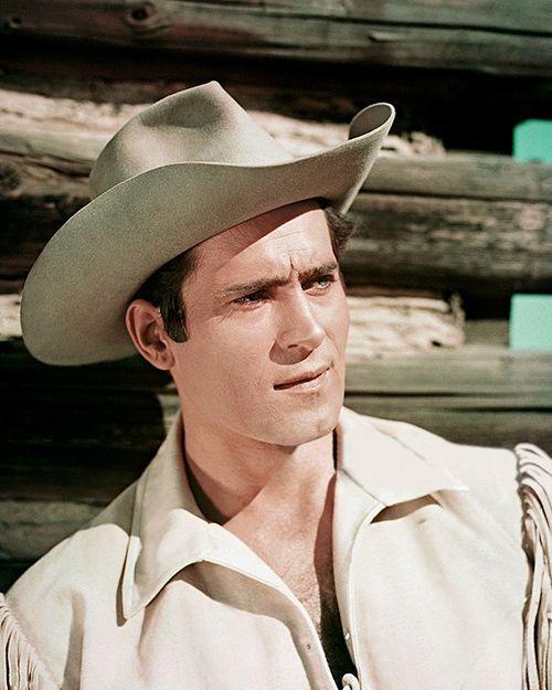 "Clint Walker - ""Cheyenne Bodie'' (RARE) -  8 1/2 X11"