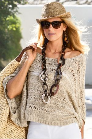Crochet sweater...  I want to make this for me!!
