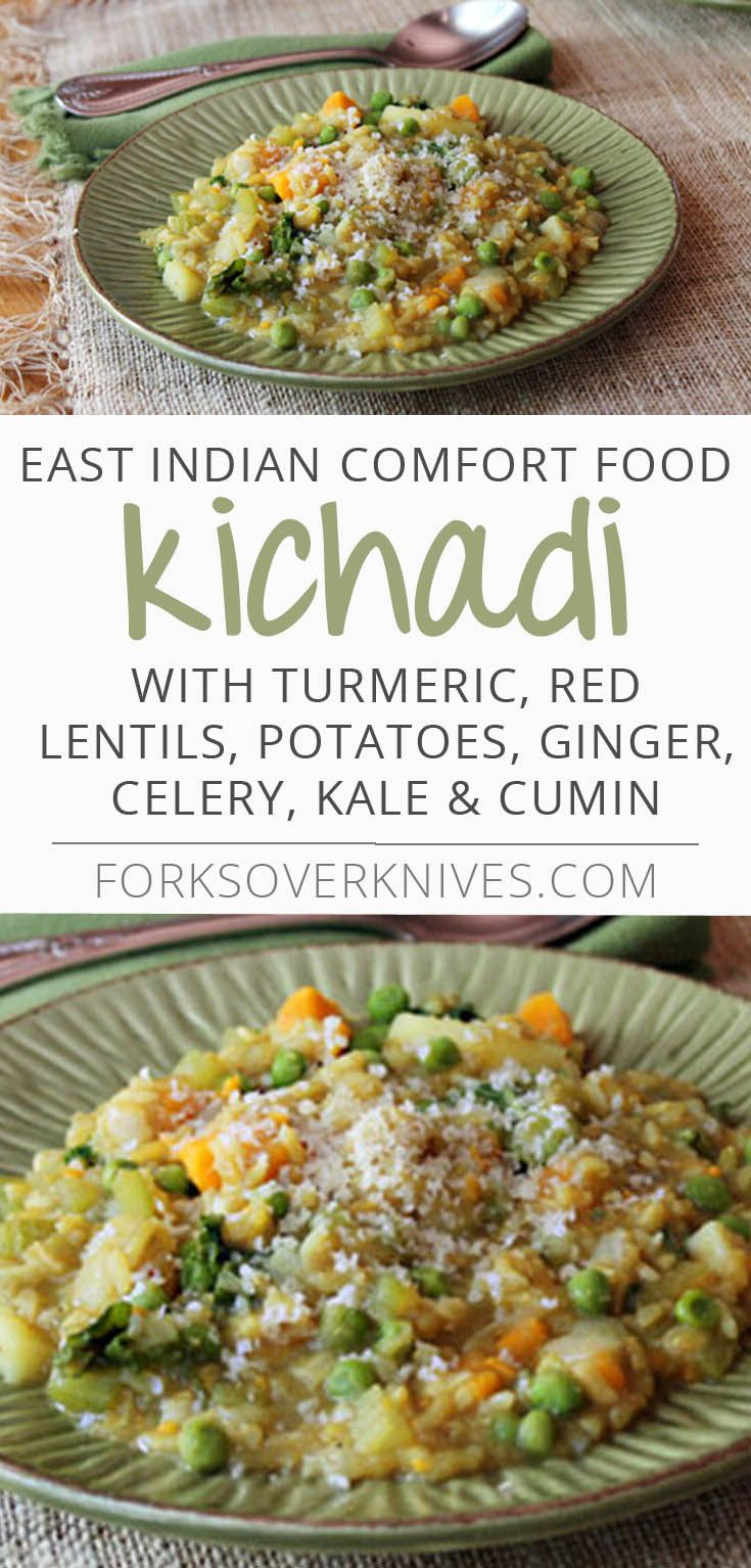 Kichadi is an East Indian comfort food that features rice and lentils (or split peas), and a variety of spices and vegetables. The combination of herbs and spices will fill your kitchen with a wonderful fragrance, and reward your tongue...  Read more