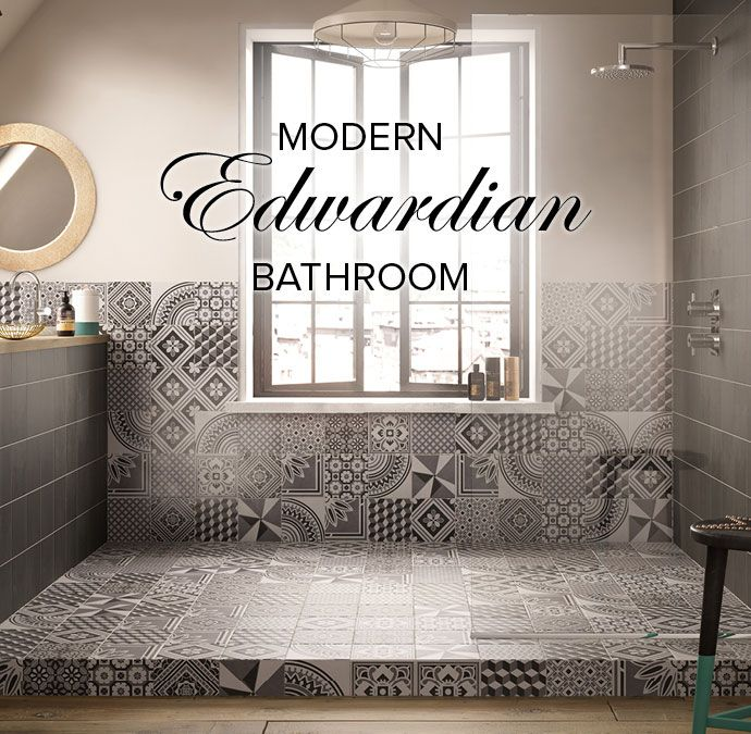 Get A Fresh Take On A Classic Look With These Edwardian Bathroom Tiles The Geotile