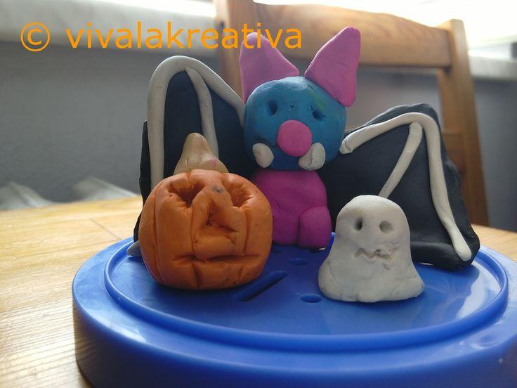 Modelína - halloween