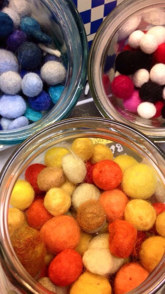 Felted,colors