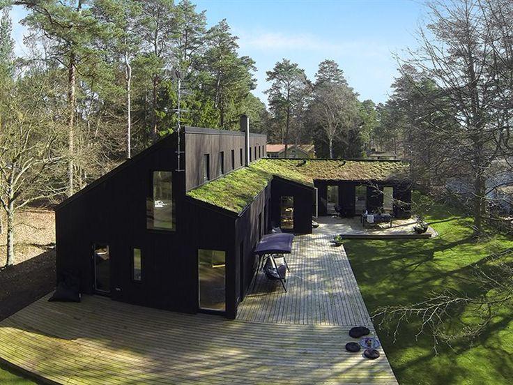 trähus fasad svart - Sök på Google