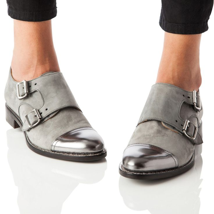 Asos Mister Leather Monk Shoes