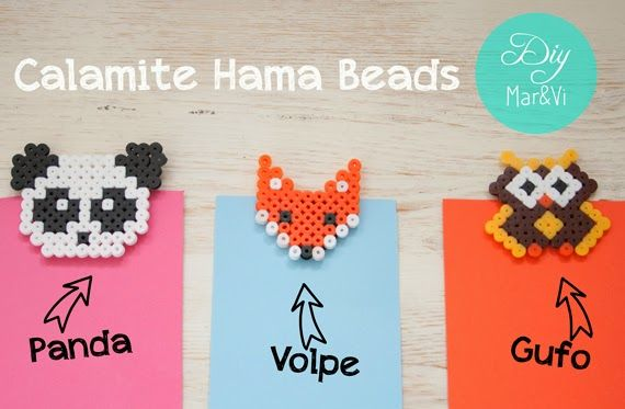 Calamite con Hama Beads