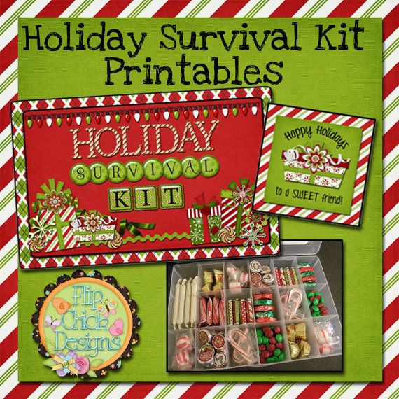 Holiday survival kit | Holiday Survival Kit Printables by ...