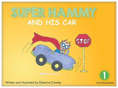 Super Hammy has a car? Yes, he does! Super Hammy has a car and he can do many things with it.