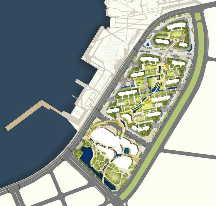 Landscape Design_Competition Project (Arch. M_Oplado 2014/ Metrostudio)