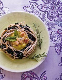 Bavette al cavolo nero con salsa di cavolfiore - Tutte le ricette dalla A alla Z - Cucina Naturale - Ricette, Menu, Diete