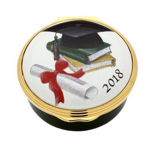 Halcyon Days 2018 Graduation Enamel Box ENGR180901G