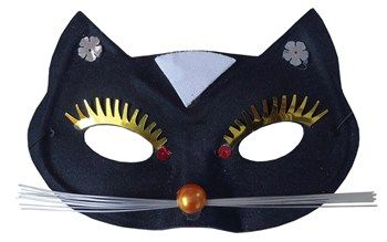 Nice Costume Accessories Black Cat Mask just added...