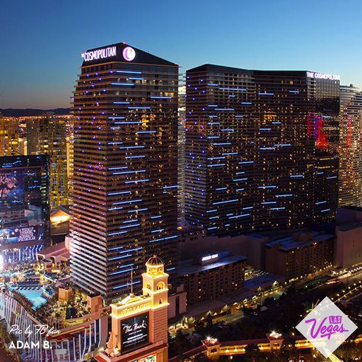 The Cosmopolitan Las #Vegas - fantastic hotel. Get a view with a room of the Bellagio Fountains. Also, it's a @marriotthotels property. -AKB