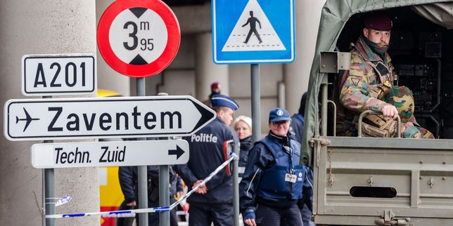 Attentats de Bruxelles : la police belge diffuseun avis de recherche
