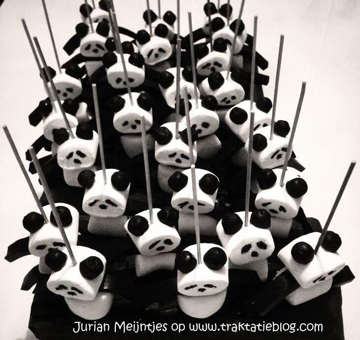 Kindertraktaties: Panda traktatie