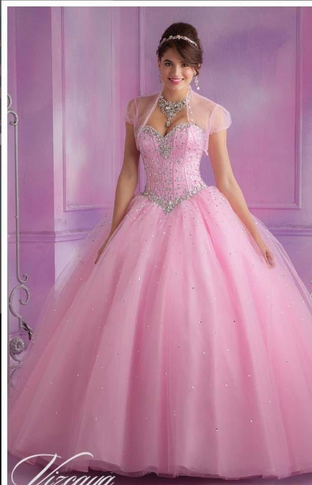 Fab Pink Gown Vestidos Vestidos De Debutantes Y