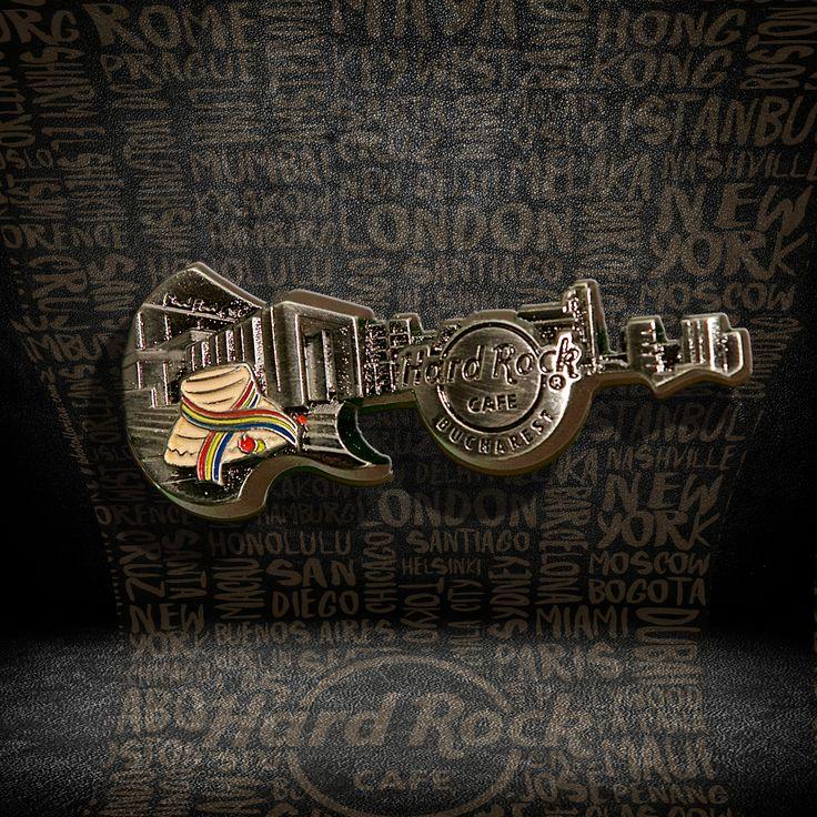 3D Skyline Pin Series  #pins #hardrockcafebucharest