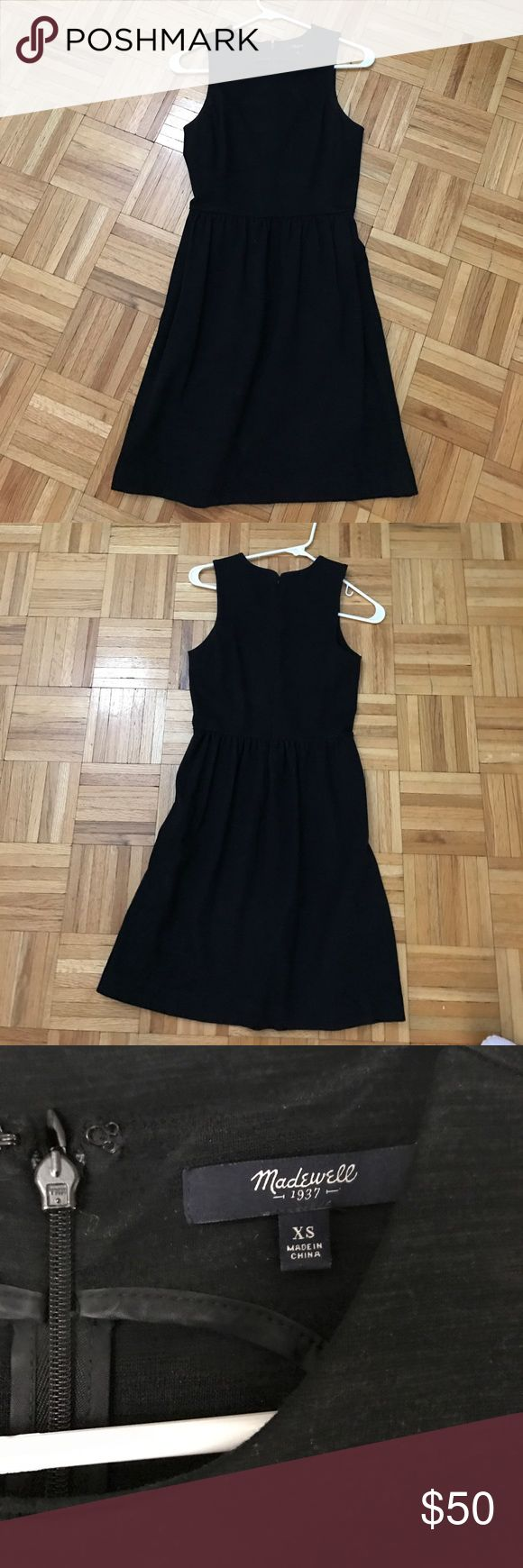 Madewell Black Afternoon Dress - NOTRADE Gently used, good condition, no defects Madewell Dresses