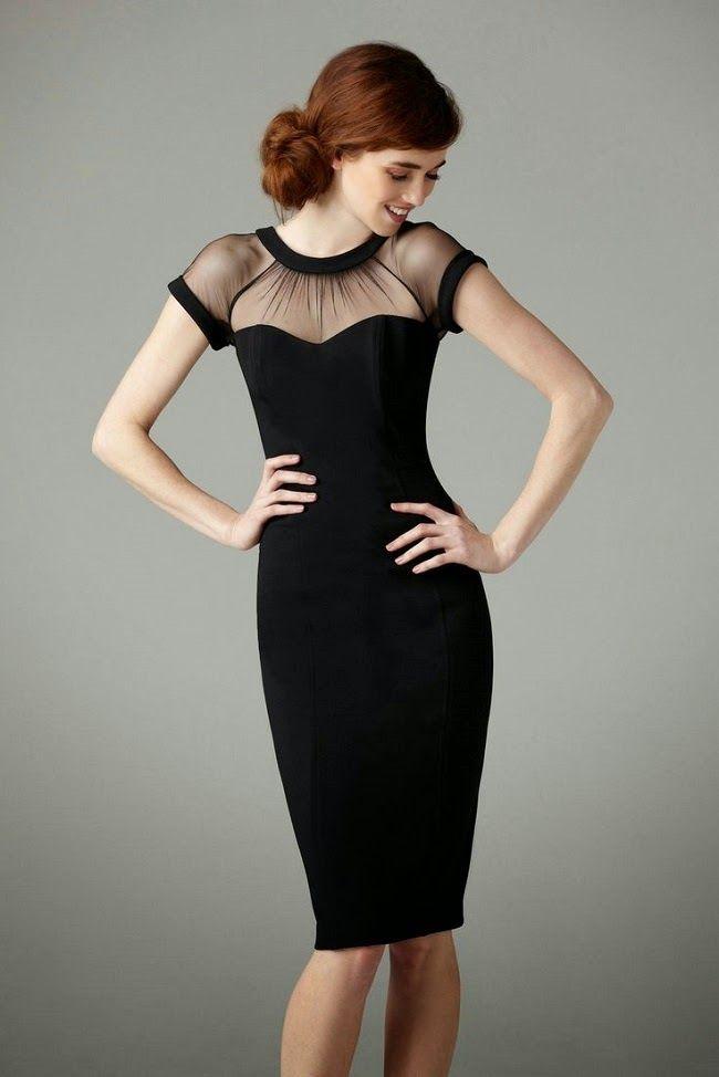 Neckline-Little-Black-Party-Dresses