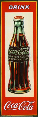 vintage coke advertisements for a kitchen