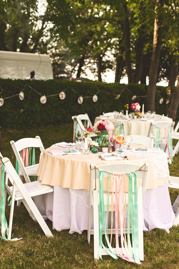 Wedding ● Tablescape ● Mint Green & Coral