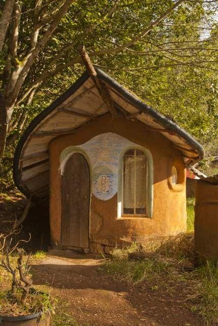 Backyards Sheds, Cob Home, Tiny House, Dreams Backyards, Cob House, Fairies House, Cobhouse, Cob Cottages, Bohemian Home
