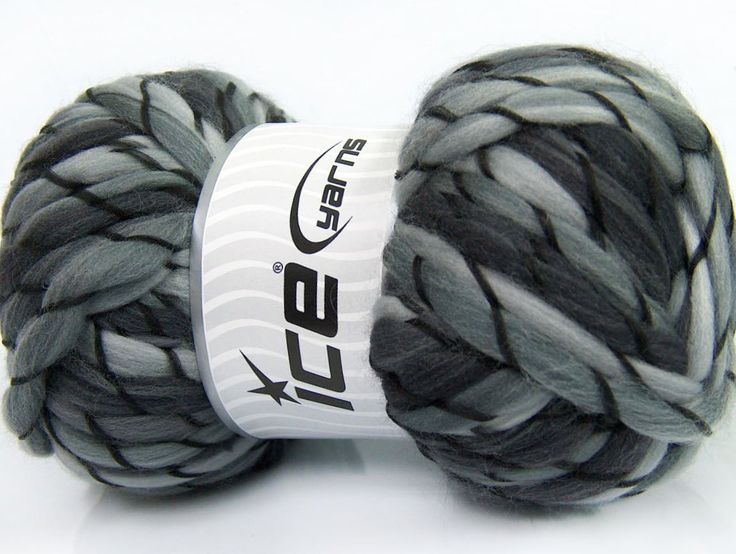 Composition 100% Acrylique haut de gamme Brand ICE Grey Shades fnt2-41466