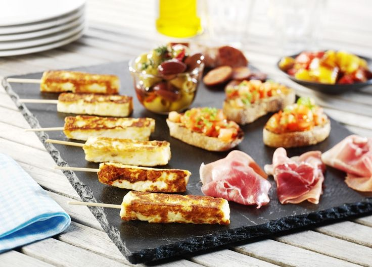 Tapas sticks med grill ost - Taverna