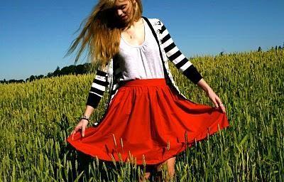 DIY Clothes DIY Refashion DIY Summer of Skirts - Waistband Bow Skirt